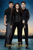 The Twilight Saga: Breaking Dawn Part 2 - Edward, Bella & Jacob Affischer