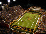 Wake Forest University - BB&T Field Photographic Print by John Grogan