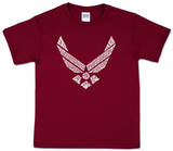 Youth: Air Force T-shirty