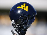 West Virginia University - Mountaineers Helmet Fotografisk tryk