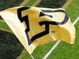 Purdue University - Purdue Flag Photographic Print