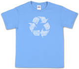 Youth: Recycle Word art T-shirty