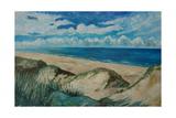 Dunes in Friesland Premium Giclee Print by Markus Bleichner