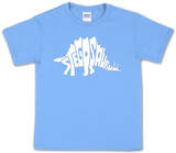 Youth: Stegosaurus Word art Shirt