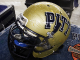 University of Pittsburgh - Pitt Helmet Photographic Print