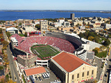 University of Wisconsin - Camp Randall Fotografisk tryk af Madison / University Communications