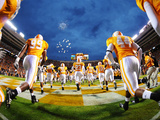 University of Tennessee - Vols Football Fotografisk tryk
