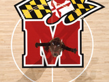 University of Maryland - Testudo at Center Court in the Comcast Center Fotografisk tryk