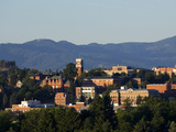 Washington State University - A View of WSU in the Rolling Hills Print