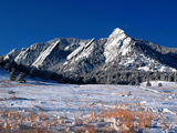 University of Colorado - Snowcapped Mountains Photographic Print