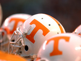 University of Tennessee - Tennessee Football Helmets Photo