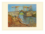 The Bridge Premium Giclee Print by Vincent van Gogh