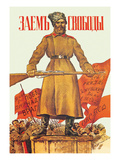 Freedom Loan Posters by Boris Kustodiev