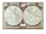 Imperial Sheet Atlas Prints by Robert Laurie & James Whittle