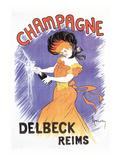 Delbeck Reims Champagne Posters by Leonetto Cappiello