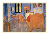 Bedroom at Arles Prints by Vincent van Gogh
