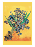 Vase Avec Irises Prints by Vincent van Gogh