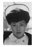 Nurse Aiko Hamaguchi Print by Ansel Adams