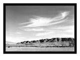 Landscape at Manzanar Poster van Ansel Adams