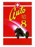 Auto No. 8 Print