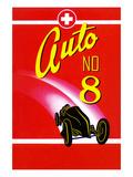 Auto No. 8 Poster
