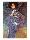 Portrait of Emily Fidge Posters por Gustav Klimt