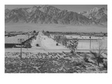 Manzanar Relocation Center from Tower Prints by Ansel Adams