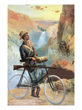 Cleveland Bicycle Co. Premium Giclee Print by  Knapp