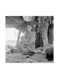 Refugees of the Drought of the Dust Bowl Kunst af Dorothea Lange