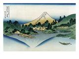 Watermill at Onden Poster af Katsushika Hokusai