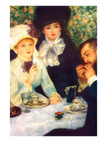 The End of the Breakfast Kunstdrucke von Pierre-August Renoir