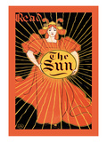 Read the Sun Premium Giclee Print by Louis John Rhead