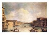 Canal Grande Affischer av  Canaletto