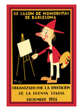 Salon De Humoristas De Barcelona Iii Art by Lluis Labarta