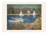 Bassin D'Argenteuil Prints by Claude Monet