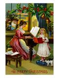 A Merry Christmas Premium Giclee Print