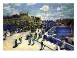Pont-Neuf Láminas por Pierre-Auguste Renoir