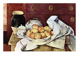 Still Life Art by Paul Cézanne