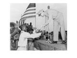 Pilot's Diploma at Tuskegee Airfield, Alabama Print