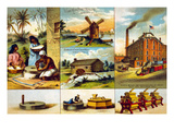 Union Mills Prints by  Calvert Lithograph Co