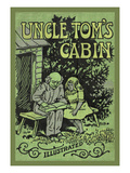 Uncle Tom's Cabin Illustrated Posters by Harriet Beecher Stowe