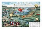 Balloon Game Board Prints