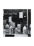 A Grocery Window Kunst af Dorothea Lange
