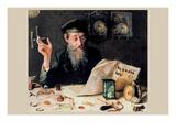 The Watch Maker Art by Yehuda Pen