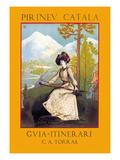 Pirineu Catala: Guia Itinerari Prints by Svend Johansen