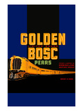 Golden Bosc Limited Edition Pears Poster
