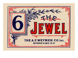 The Jewel Broom Label Poster