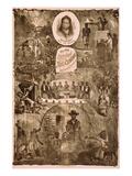 The Old Original North Carolinians Ex-Slave Troupe Premium Giclee Print