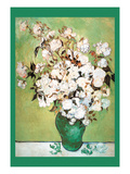 Vase Avec Roses Poster by Vincent van Gogh