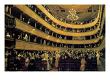 Hall Print by Gustav Klimt